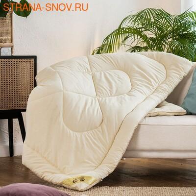Одеяло овечья шерсть Модерато микрофибра летнее 140х205