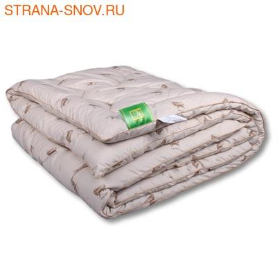 Одеяло овечья шерсть Модерато микрофибра легкое 140х205