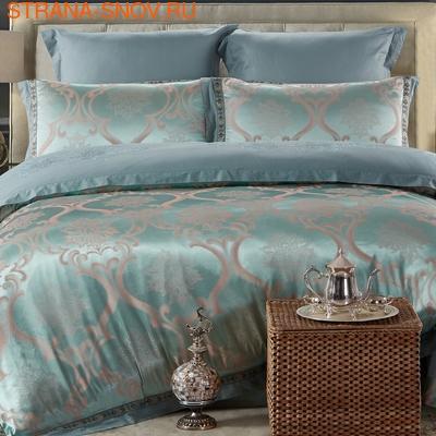 TJ114-45 Cristelle Venice постельное белье сатин жаккард семейное (фото)