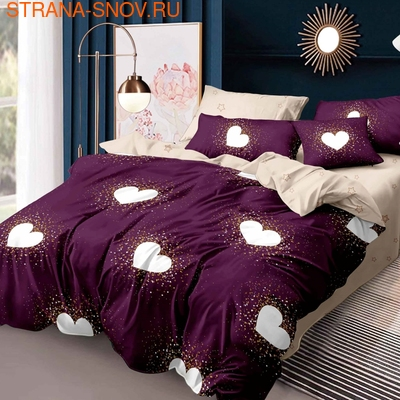 DF05-268-50 постельное белье микросатин Dream Fly семейное (фото)