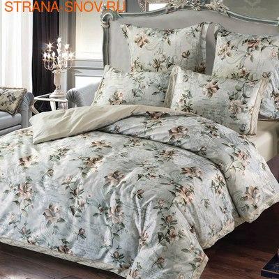 640 Экзотика постельное белье хлопок Поплин 1,5-спальное (фото)
