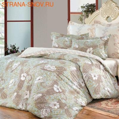 440 Экзотика постельное белье хлопок Поплин 1,5-спальное (фото)