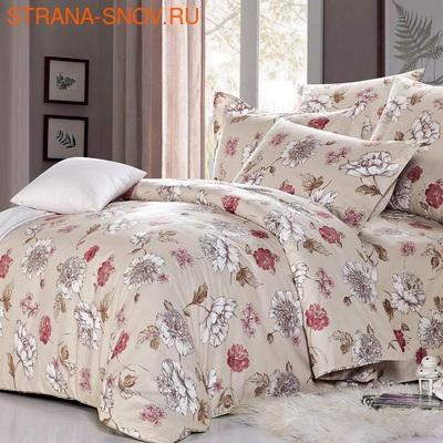 L-01 SailiD постельное белье Сатин Однотонный 1,5-спальное (фото)
