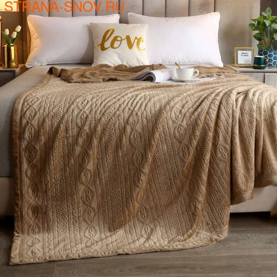 Покрывало хлопковое Коронатекс Лайм 160х220 светло-зеленое (фото)
