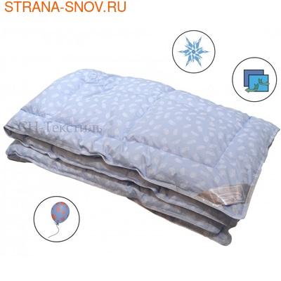 Одеяло Лебяжий пух тик SN-Textile 140х205 зимнее (фото)