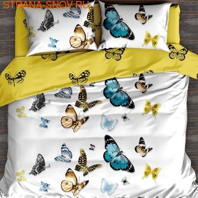 DF02-331-70 постельное белье микросатин Tango Dream Fly 2сп (фото)