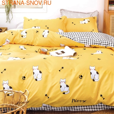 B-166 SailiD постельное белье Сатин 1,5-спальное (фото)