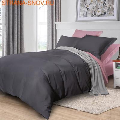 BL-48 SailiD постельное белье Сатин биколор семейное (фото)