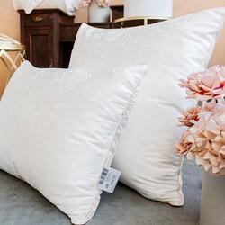 Подушка шелковая комбинированная Mulberry 50х70
