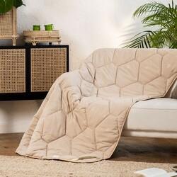 Одеяло верблюжья шерсть САХАРА МИКРОФИБРА зимнее 140х205