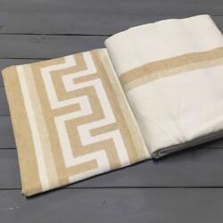 Одеяло байковое ГРЕЦИЯ 140х205 бежевое