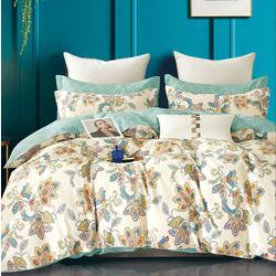 Одеяло байковое жаккардовое Барни 100х140 голубое