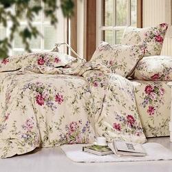 Постельное белье поплин в детскую кроватку ЗООПАРК голубое