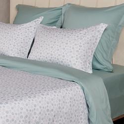 Постельное белье сатин в детскую кроватку Зайки