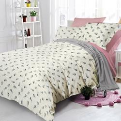 Постельное белье сатин в детскую кроватку СЛОНИКИ