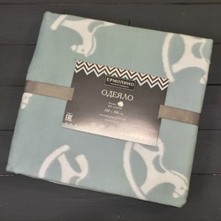 Одеяло байковое жаккардовое Премиум 100х140 Слоник