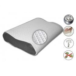 Подушка ортопедическая Орто Smart Silver 53х32х(14+10)