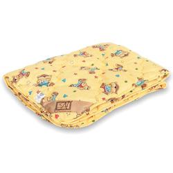 Одеяло детское ОВЕЧЬЯ ШЕРСТЬ 110х140 всесезонное