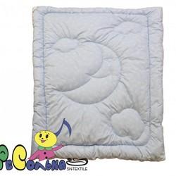 Одеяло детское лебяжий пух ПУШИНКА 110х140 всесезонное