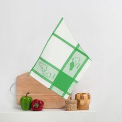 8202-04 Кухонное жаккардовое полотенце хлопок 50х50