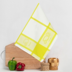 8202-03 Кухонное жаккардовое полотенце хлопок 50х50