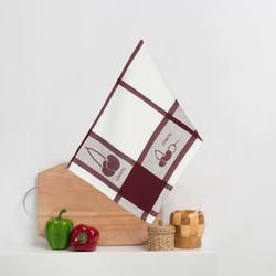8202-02 Кухонное жаккардовое полотенце хлопок 50х50