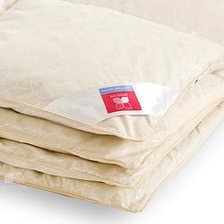 Одеяло гусиный пух кассетное Камелия Легкие сны 140х205 теплое
