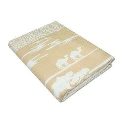 Одеяло байковое САФАРИ 150х215 бежевое