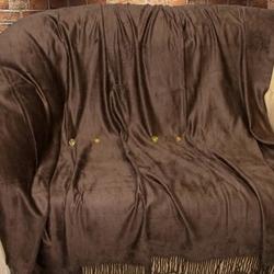 Bamboo Throw плед бамбуковый Tango 150х200 шоколадный