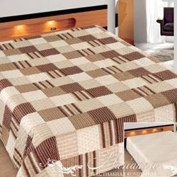 Одеяло байковое жаккардовое Премиум 100х140 Лаванда Лес