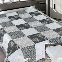 Одеяло байковое жаккардовое Премиум 100х140 Лаванда Олененок
