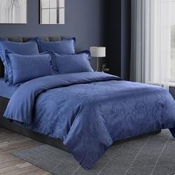 Покрывало хлопковое Коронатекс Виноград 160х220 фиолетовое