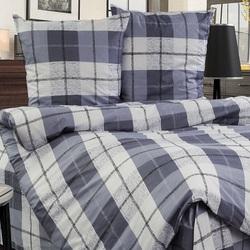 Покрывало хлопковое Коронатекс Виноград 200х240 фиолетовое