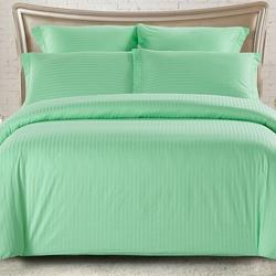 CST05-01 постельное белье страйп сатин однотонный Семейное
