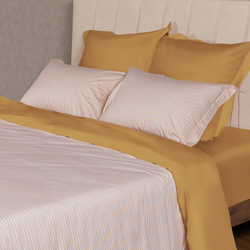 CST05-10 постельное белье страйп сатин однотонный Семейное