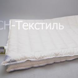 Одеяло байковое ЭЛЕГАНТ 150х215 коричневое