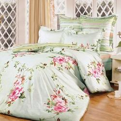 DF01-196 постельное белье микросатин Dream Fly 1,5-спальное