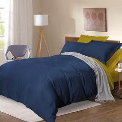 BL-49 SailiD постельное белье хлопок Сатин двухцветный евро