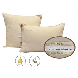 Подушка овечья шерсть Модерато SN-Textile 68х68