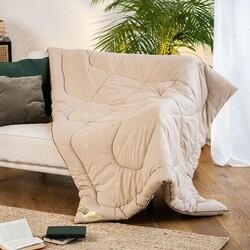 Одеяло верблюжья шерсть САХАРА МИКРОФИБРА зимнее 172х205