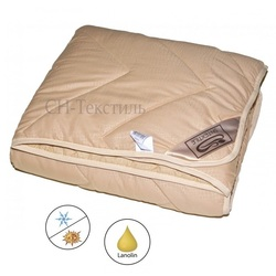 Одеяло верблюжья шерсть Сахара Alvitek Микрофибра всесезонное 200х220