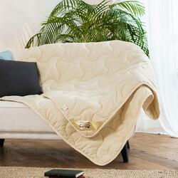 Одеяло овечья шерсть МИКРОФИБРА всесезонное 140х205