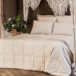 Одеяло стеганое Лён Микрофибра легкое 200х220