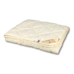 Одеяло овечья шерсть Модерато Люкс легкое 140х205