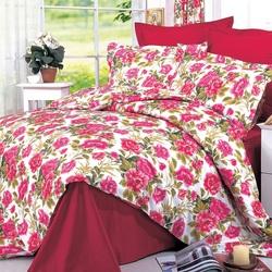 Покрывало хлопковое Коронатекс Лотос 200х240 темно-зеленое