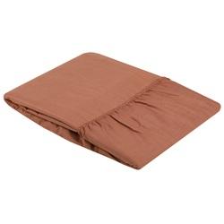 Полотенце махровое BAYRAMALY 40х70 персиковое