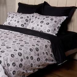 L-18 SailiD постельное белье Сатин Однотонный 1,5-спальное