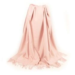 Простыня на резинке Поплин однотонный 90х200х25 розовая