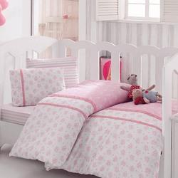 1041-05 постельное белье Ранфорс кружево Cotton Box Ясли