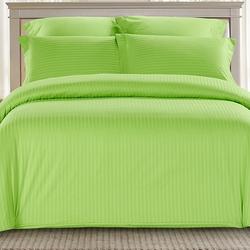 CST01-10 постельное белье страйп сатин однотонный 1,5-спальное